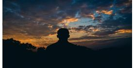 The importance of mental and emotional well-being during dark times in life article author Karen Rego