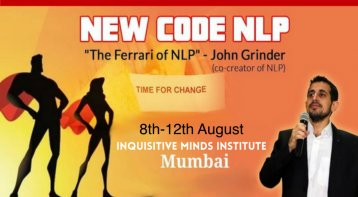 Internationally certified NLP course by the best trainer