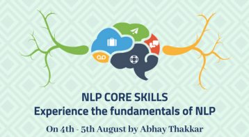 NLP Core Skills workshop - Experience the fundamentals