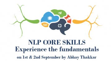 NLP Core Skills with Abhay Thakkar at Banglore