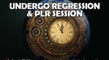 Undergo Regression and PLR Session for complete healing