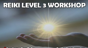 Reiki Level 3 Workshop: Become a Master Healer