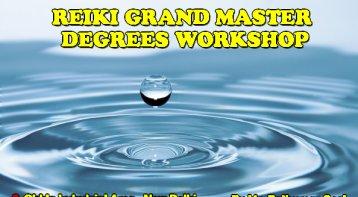 Reiki Grand Master Degrees