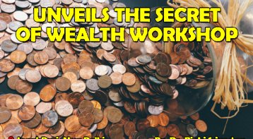 Money Karma Whatsapp Workshop unveils the secret of wealth
