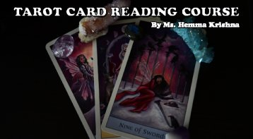 Tarot Card reading course - Become a Tarot Reader in 3 days