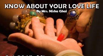 Know about your love life with palmist Nisha Ghai