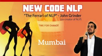 New Code NLP in Mumbai by India's Most Trusted Trainer