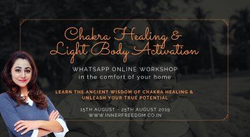 Chakra Balancing & Light Body Activation Online Workshop