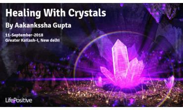 crystal healing training in delhi