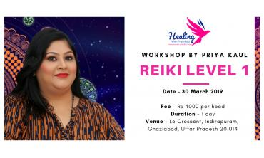 Reiki Level 1 - Learn Basic Healing in this Workshop