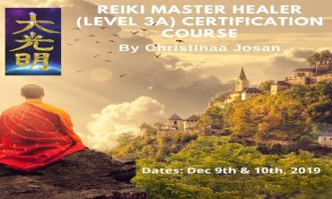 Reiki Master Healer Certification Course Level 3A