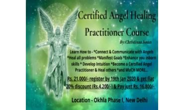 Certified Angel Healing Practitioner Course