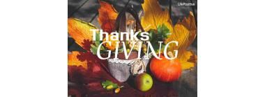 Thanksgiving can change your life
