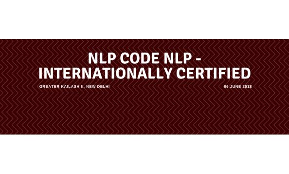 New Code NLP - Internationally Certified