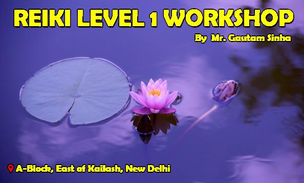 Reiki level One Workshop: Embark on a new life journey