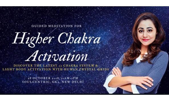 Meditation For Higher Chakra Activation