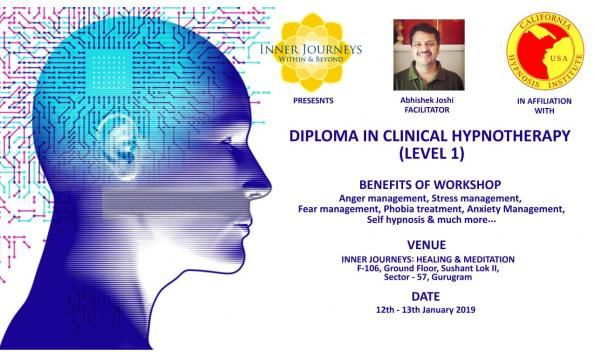 Diploma in Clinical Hypnotherapy Level 1 (CHI USA)