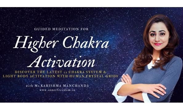 Higher Chakra Activation: Rare Meditation with Crystals