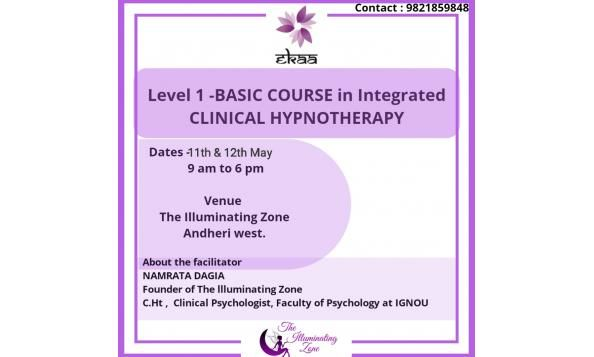 Learn Level 1 - Clinical Hypnotherapy  in two days