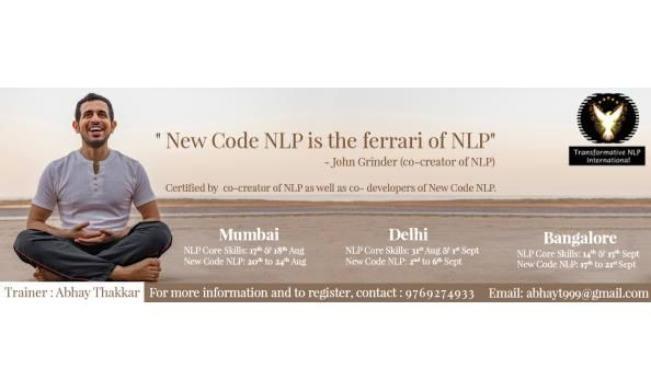 New Code NLP in Mumbai by India's Only Internationally Certified New Code NLP Trainer