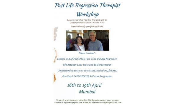 Past Life Regression Therapist Workshop