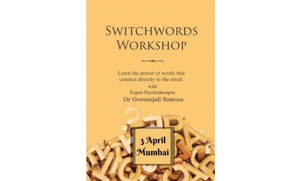 Switch Words Workshop in Mumbai